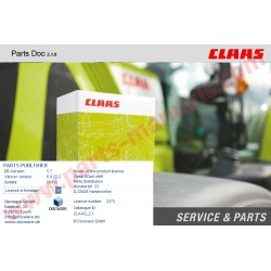 CLAAS PARTS DOC 2.1 EPC 2016