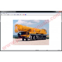LIEBHERR LIDOS CRANES PARTS MANUAL 2016 ONLINE