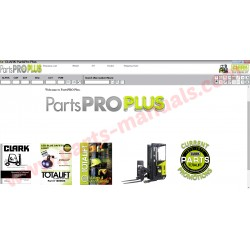 CLARK PARTS PRO PLUS 2016 + SERVICE MANUAL