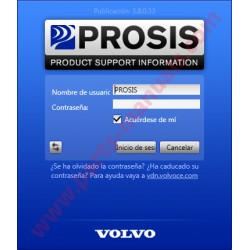 VOLVO PROSIS 2015 PARTS & SERVICE