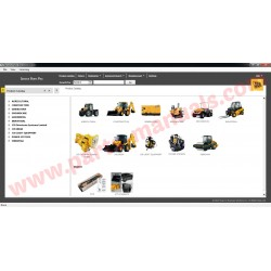 JCB SERVICE PARTS PRO 2015 + SERVICE MANUAL