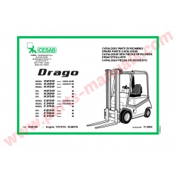 CESAB  FORKLIFT SPARE PARTS CATALOGUES