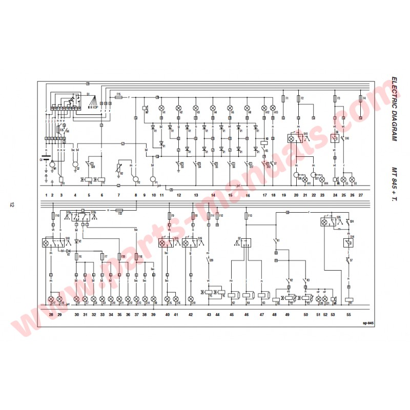 manitou mt 732 wiring diagram