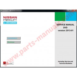 NISSAN FORKLIFT SERVICE & REPAIR MANUAL